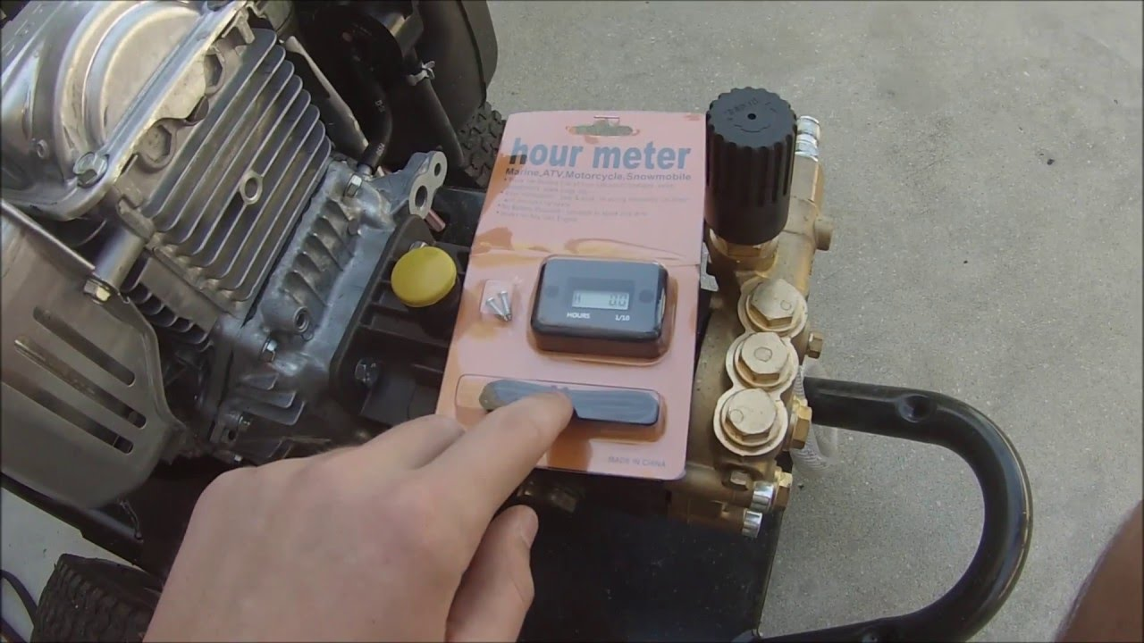how to install an hour meter on your small engine [ 1280 x 720 Pixel ]