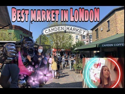 Camden Market || Best Outdoor Weekend Market in London || Yay 2K #part1