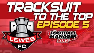 Tracksuit to the Top: Episode 5 - Halfway There! | Football Manager 2015 Thumbnail