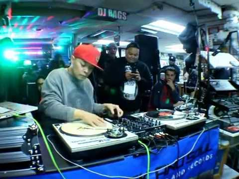 DJ Qbert Invades NYC 2014 DMC Superbowl Weekend Thud Rumble