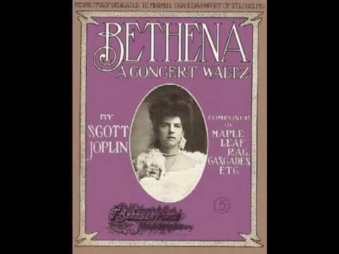 Scott Joplin - Bethena A concert Waltz