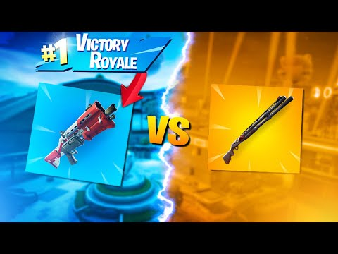 Why I ALWAYS Choose The Tac Over The Combat Shotgun... (Fortnite Battle Royale - Season 9)