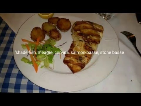 Grilled Meagre Shade-fish At Eilat