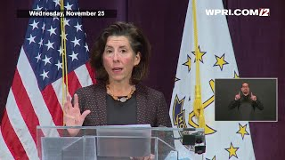 VIDEO NOW: Governor Raimondo discusses new changes to RI's COVID-19 testing