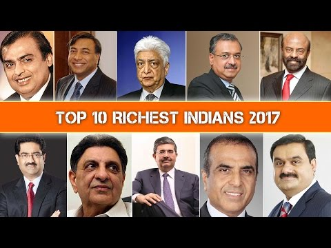 TOP 10 RICHEST INDIANS FORBES