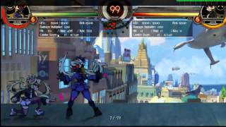 Skullgirls 2nd Encore   Fukua Standing Roundhouse Fake Into Overhead Forever a Clone Guide