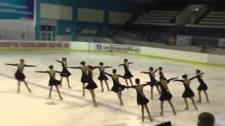 Чемпионат России по синхронному катанию  1 спортивный разряд  ПП 14 Леди Айс
