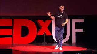 A Brave New Salsa Dancing World  (With Surprise Wedding Proposal) | Rob Castellucci | TEDxUF