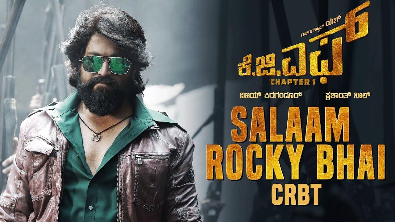 Salaam Rocky Bhai CRBT Codes | KGF Kannada Movie | Yash | Prashanth Neel | Hombale Films #1