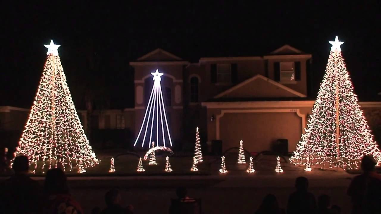 kerstmis licht show wizards - photo #2