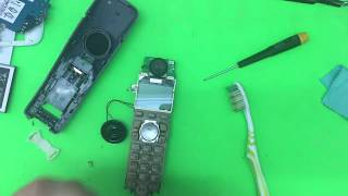 Panasonic KX-TGA721FX Disassembly