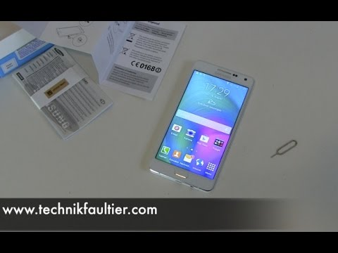 Samsung Galaxy A5 einrichten und erster Eindruck