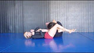 """BJJ No Gi """"Tricks For Breaking Open The Arms"""" - Tess Kielhamer"""