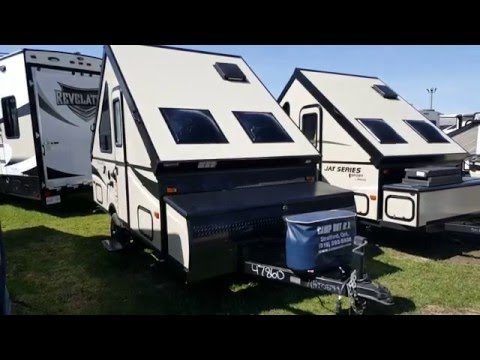 """2016 Palomino Camping Trailer A12ST """"A"""" Frame Tent Trailer @ Camp-Out RV in Stratford"""