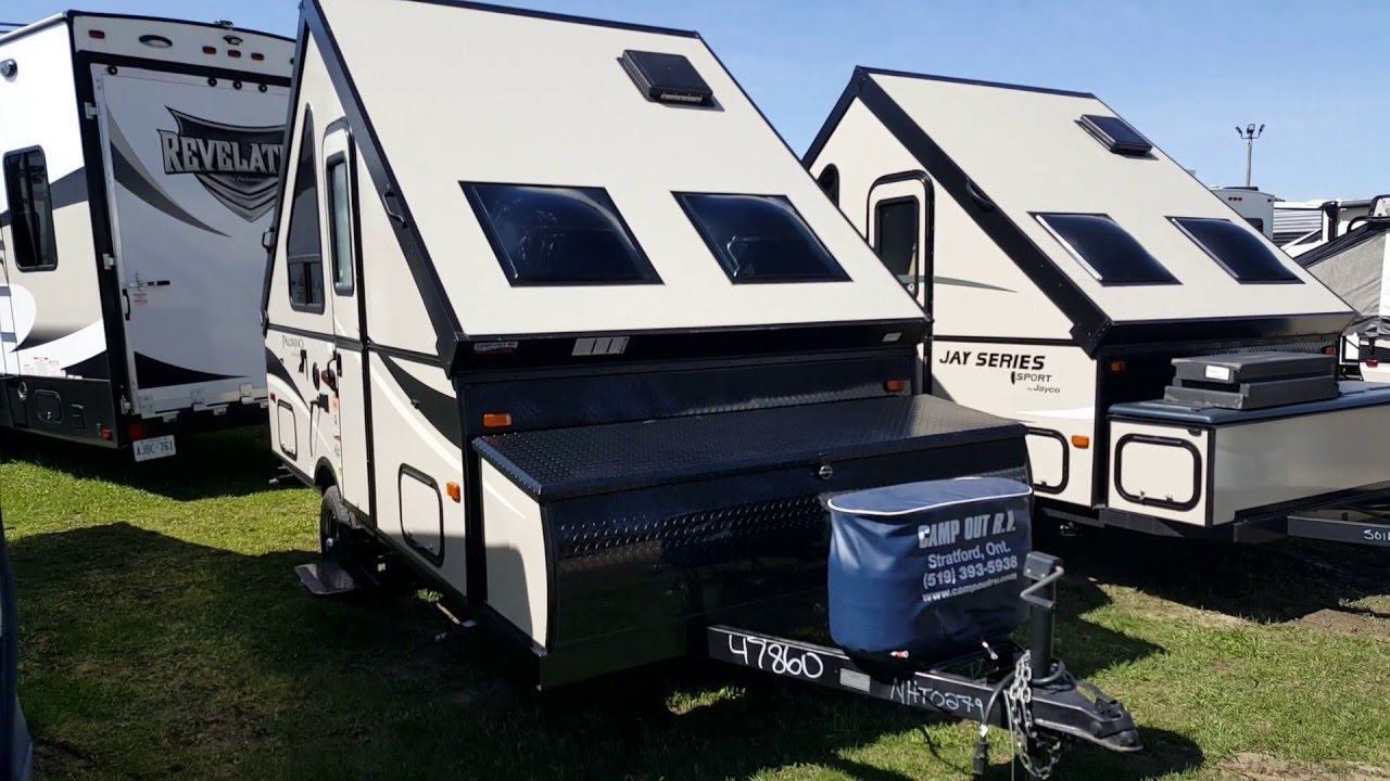 2016 Palomino C&ing Trailer A12ST  A  Frame Tent Trailer @ C&-Out RV in Stratford - YouTube & 2016 Palomino Camping Trailer A12ST