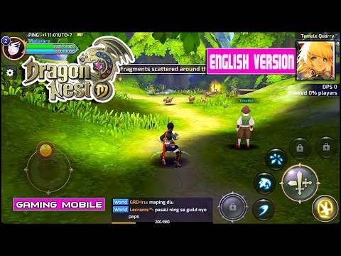 Dragon Nest M (English Version) – SEA OBT Gameplay [Android/IOS]