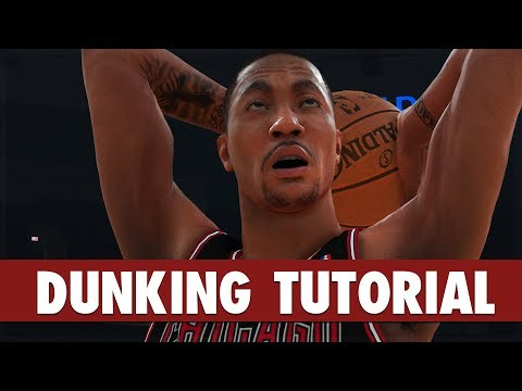 NBA 2K19 - DUNKING Tutorial: Eurostep Dunks, Spin Dunks, Reverse, 360, Jordan FT Line Dunks