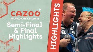 AN EMOTIONAL WIN! | Semi-Final aฑd Final Highlights | 2021 Cazoo World Cup of Darts
