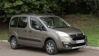 Essai Citroën Berlingo Multispace BlueHDI 100 XTR 2015(Il est aussi connu que le Kangoo : le Berlingo est le ludospace de Citroën. Cette génération, lancée en 2008, a eu droit au printemps 2015 à son deuxième ..., 2015-09-23T14:02:01.000Z)