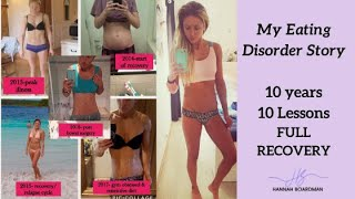 MY EATING DISORDER STORY   FULL RECOVERY FROM AN EATING DISORDER