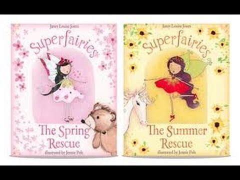 The superfairies - by Janey Jones