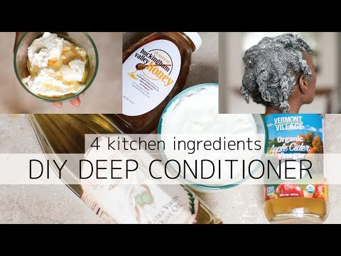 Homemade Deep Conditioner | 4c Natural Hair