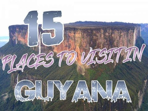 Top 15 Places To Visit In Guyana