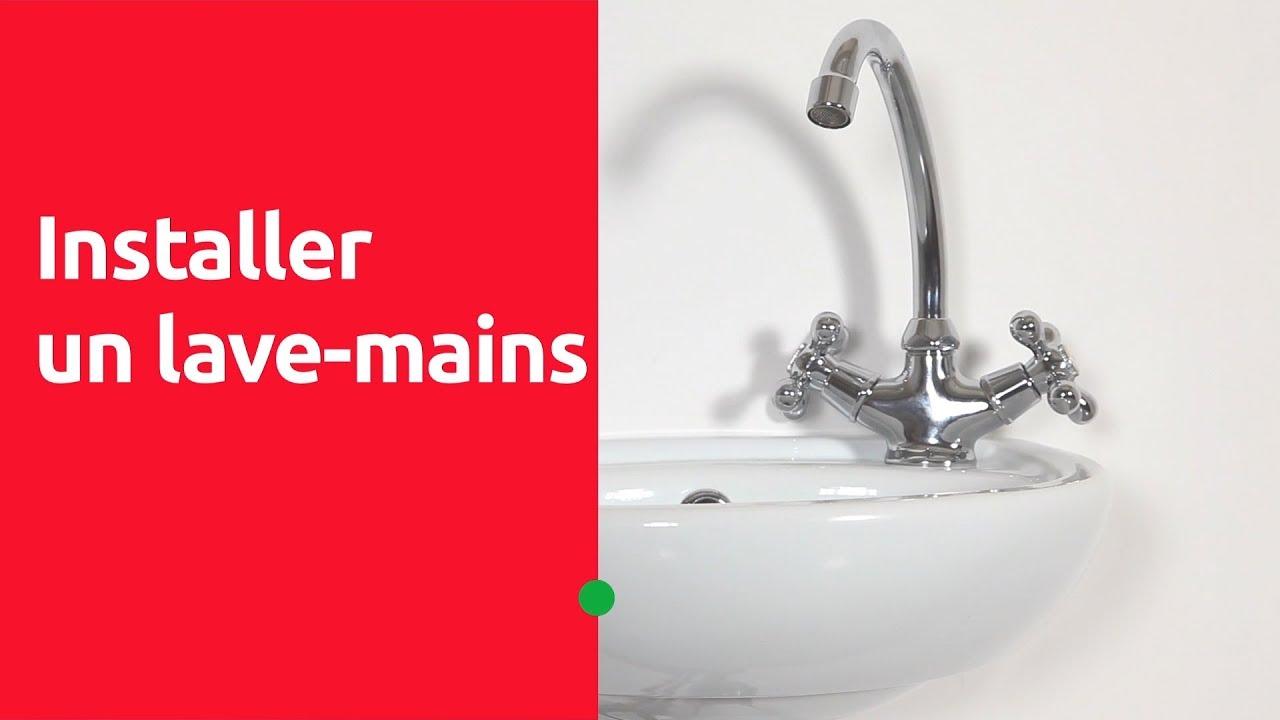 Comment Installer Un Lave Main Avec Meuble installer un lave mains