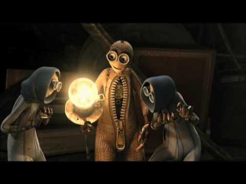 9 Movie Clip - The Library - Tim Burton, Shane Acker,  Elijah Wood - High Quality - HQ