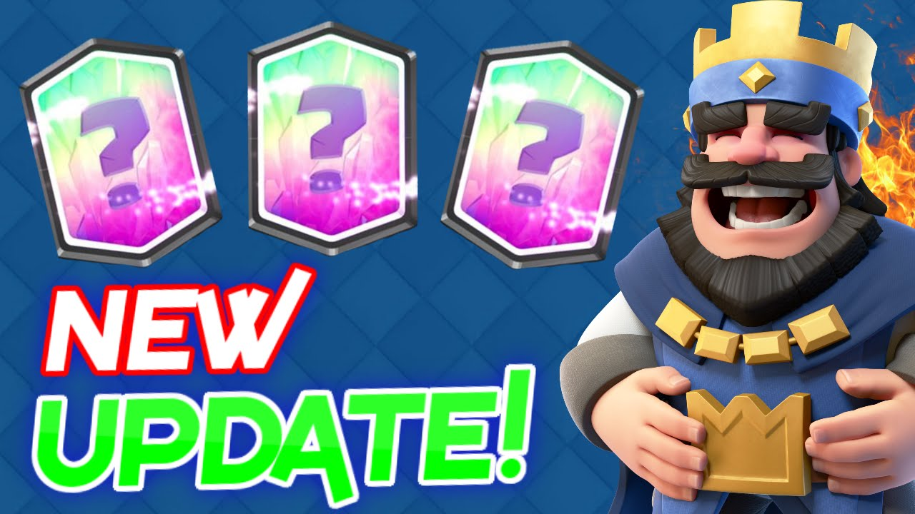 NEW CLASH ROYALE UPDATE! Clash Royale UPDATE SOON! NEW CARDS ...