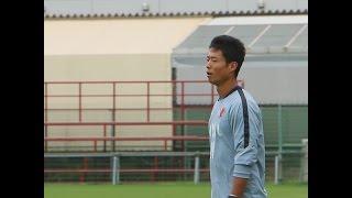川俣慎一郎のGK練習に密着。意欲的に何度もチャレンジ