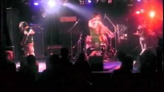 Napalm Deathのコピーバンド、【雨を見たかい】のライブ。 1/15/2011 【...