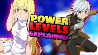 Bell's Power & Stats Explained! How Does Levelling Work in DanMachi?