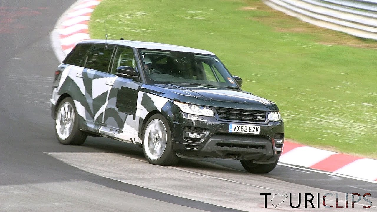 Range rover lwb spied auto express - 2015 Range Rover Plug In Hybrid Spied Testing On The N Rburgring