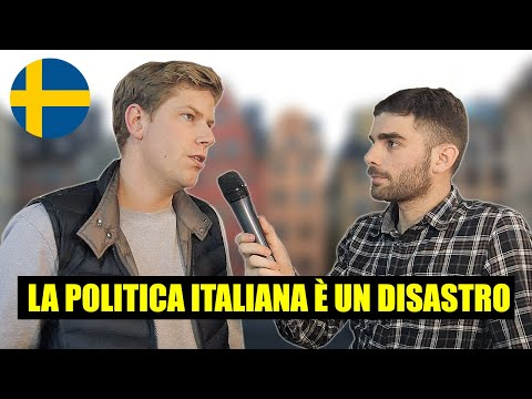 Cosa gli SVEDESI pensano degli ITALIANI ? Domande a Stoccolma - thepillow