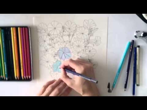 Fantasifuld flora af Nina Leth