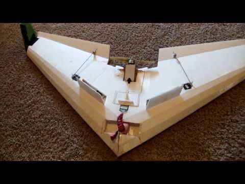 Foldable RC Delta Wing!!!