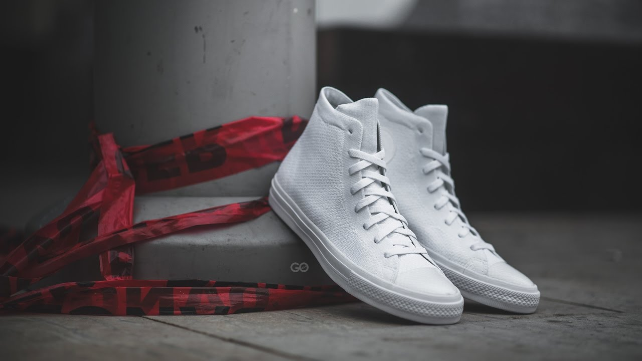 Review   On-Feet  Converse Chuck Taylor All Star Flyknit
