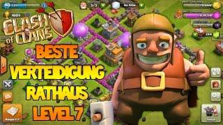 Verteidigung für Rathaus Level 7 ✪ Clash of Clans ✪Deutsch / #002 ✪ Ozgur66