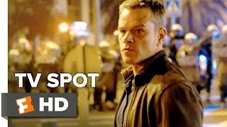 Jason Bourne TV SPOT - The Best Bourne Yet (2016) - Matt Damon Movie