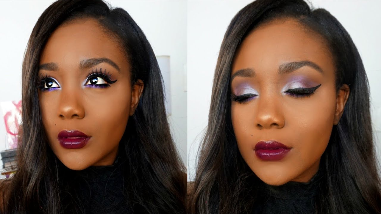 Bold Makeup Tutorial for Dark Skin I Foundation Routine & Get ...