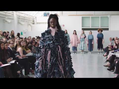Winchester School of Art, Fashion Show, 2017