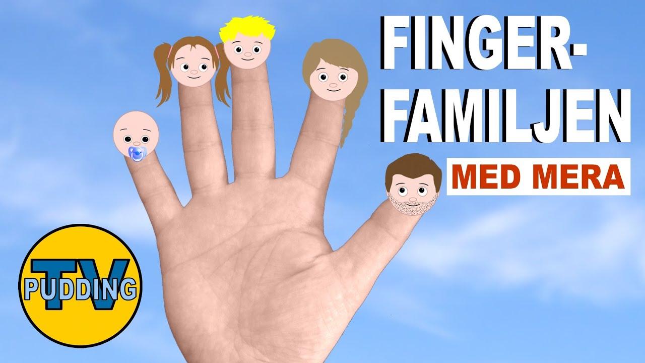 tio små fingrar