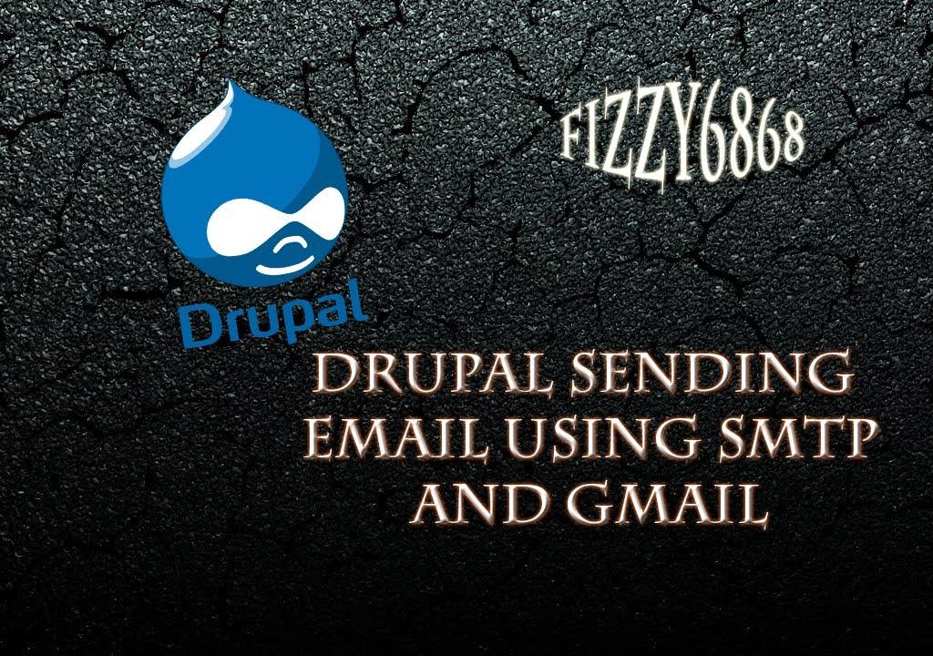 Drupal sending email using SMTP using gmail