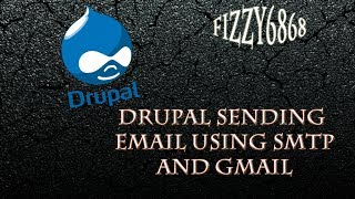 Drupal sending email using SMTP using gmail