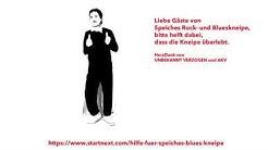 """Hilfe für Speiches Blueskneipe - """"S-Bahn-Blues"""" mit UNBEKANNT VERZOGEN und AKV"""
