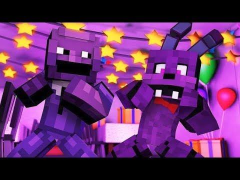Minecraft FNAF: Purple Guy Surprise Visit (Minecraft FNAF Roleplay)
