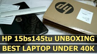 HP 15 Core i5 8th Gen - (8 GB/1 TB HDD/DOS) 15-BS145TU Laptop Unboxing