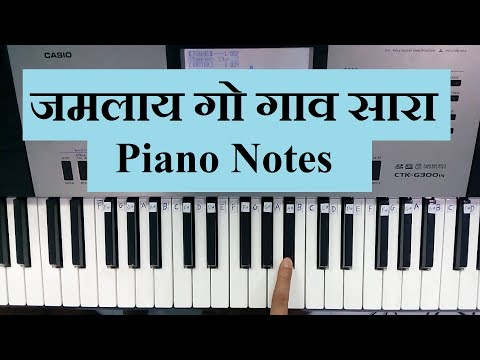 Repeat Karlyache Dongari || Aai Maulicha Udo Udo || Easy Piano Songs