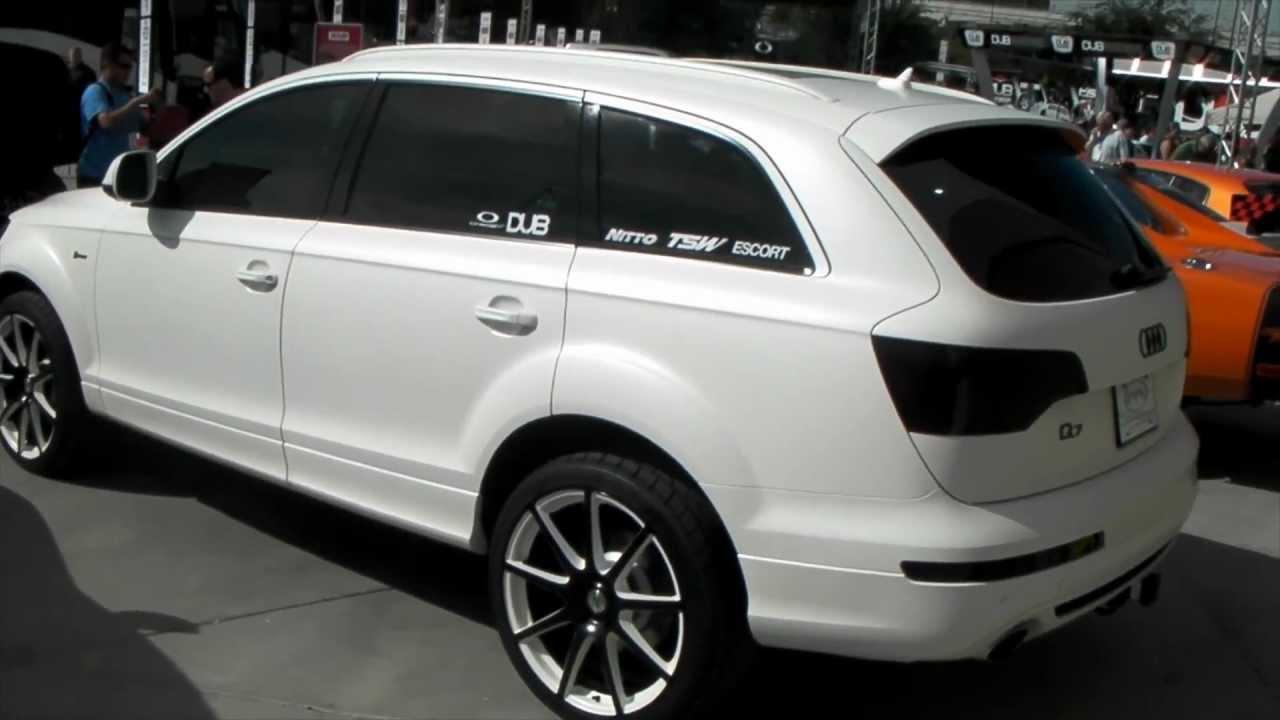Dubsandtires Com 2012 Audi Q7 Review 22 Inch Tsw